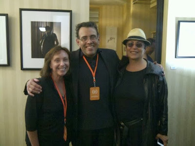 Mera Rubell, Lenny Campello and Judith Peck at (e)merge art fair 2013