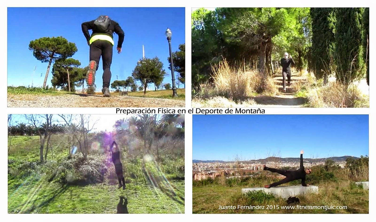 Preparación Física Deporte Montaña Fitness Montjuic