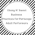 Ebonynsweet Code of Business Practices for Adult Preformers (Ebonynsweet Certification Standards)