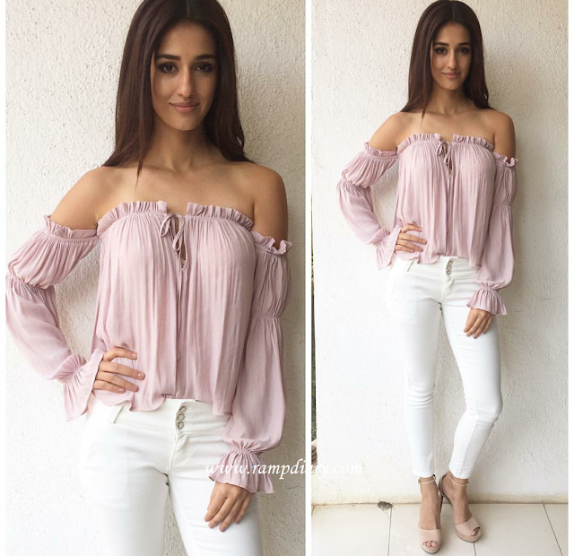 Disha Patani In Forever 21 and River Island For Kung Fu Yoga Promotions