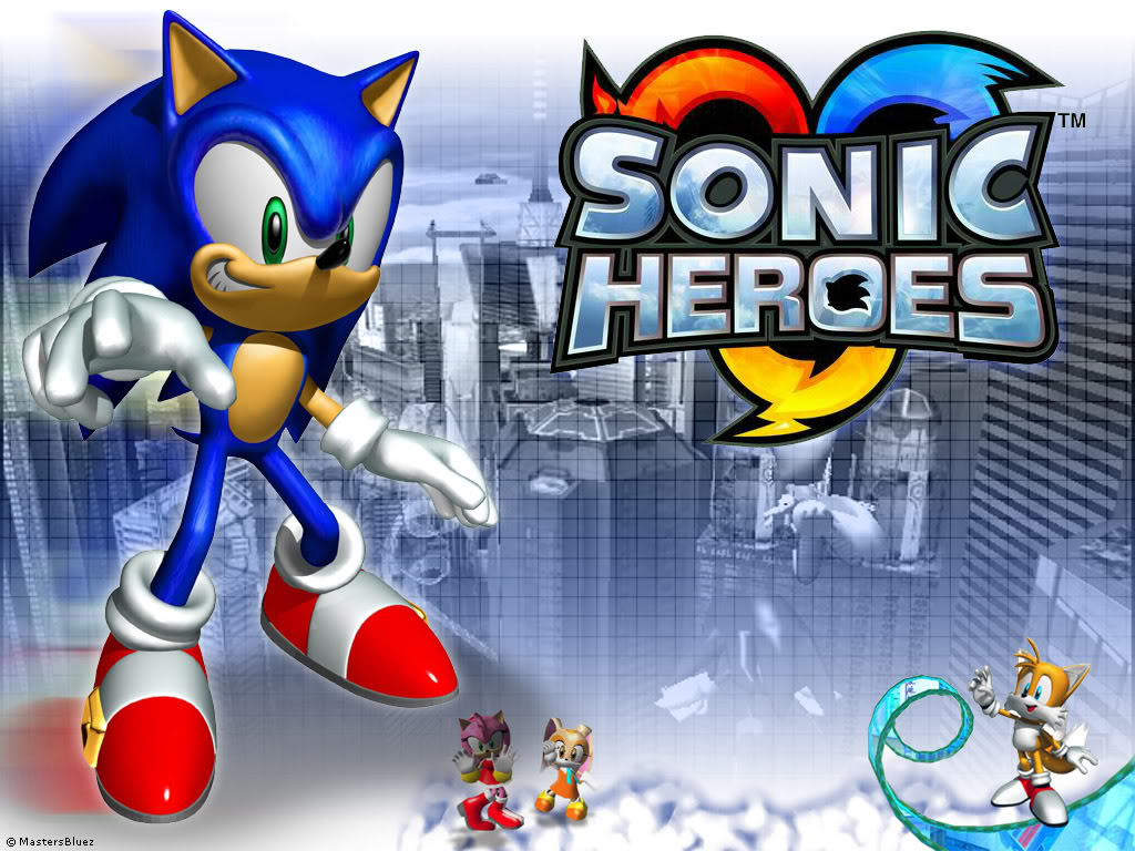 Free Download-PC Games Sonic Heroes-Full Version