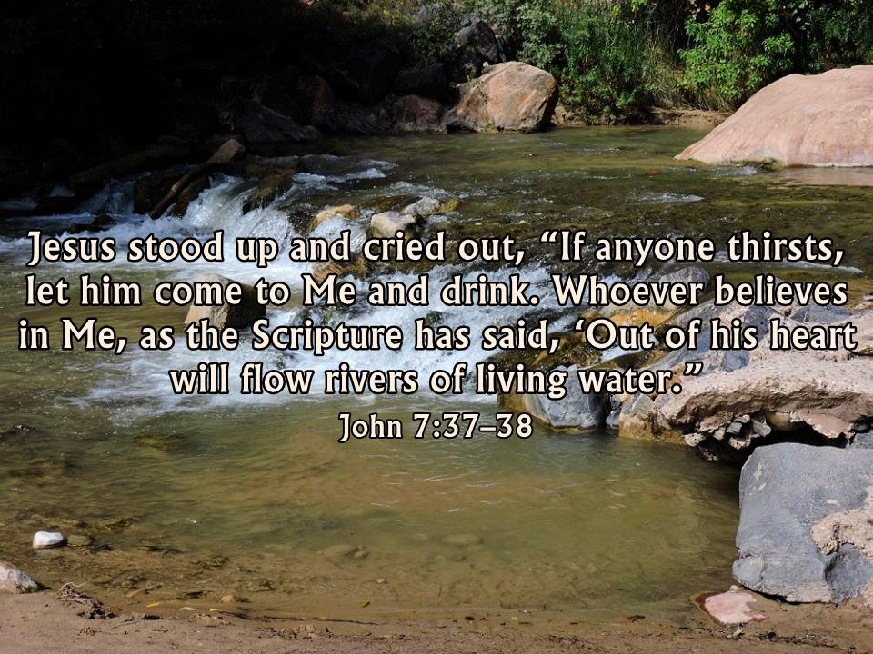 John 7:37–39