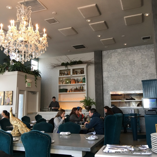 dining room at The Dorian in San Francisco, California