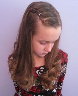 Model Kuncir Rambut Anak