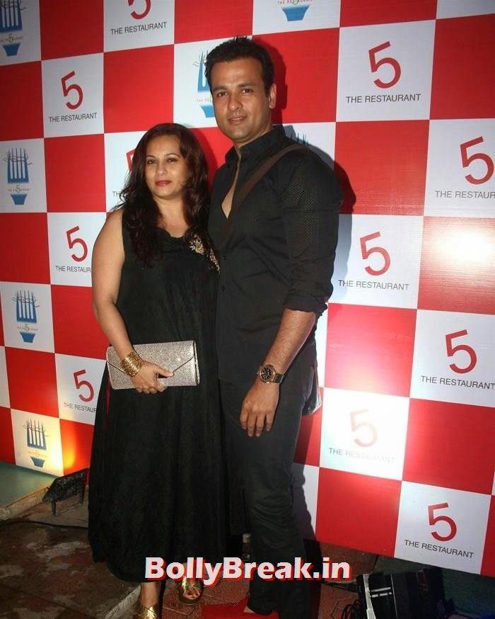 Mansi Joshi, Rohit Roy, Preeti Jhangiani hot Photos from '5 - The Restaurant' Launch