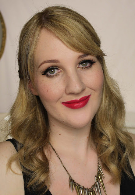 MAC MONDAY | Zac Posen - Dangerously Red Lipstick Swatches & Review
