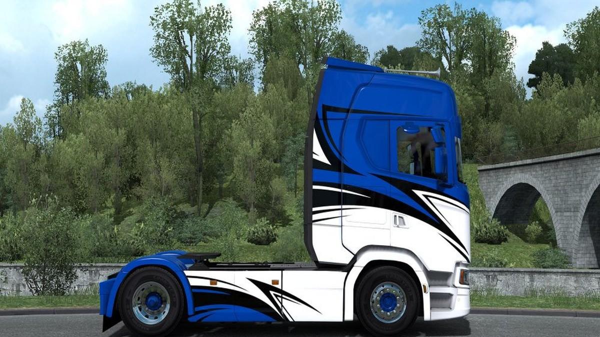 Romain Bonniol Skin Scania 2016