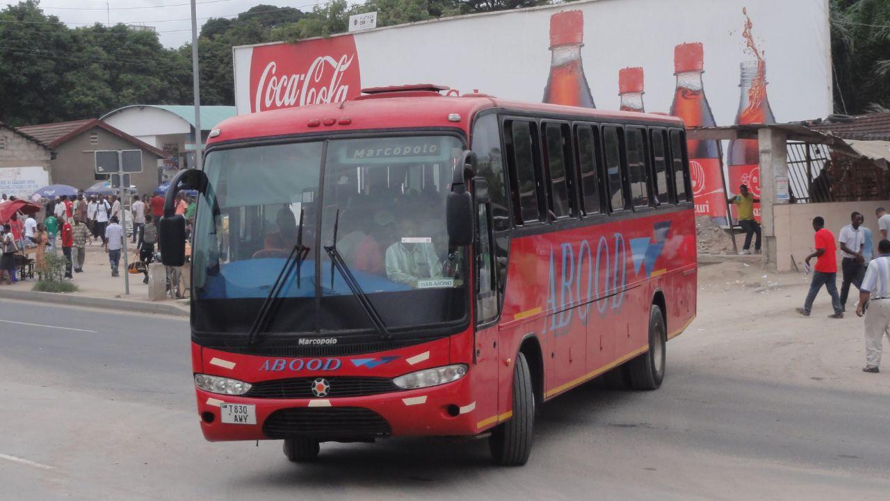 Tanzania Bound Buses Abood Bus Service