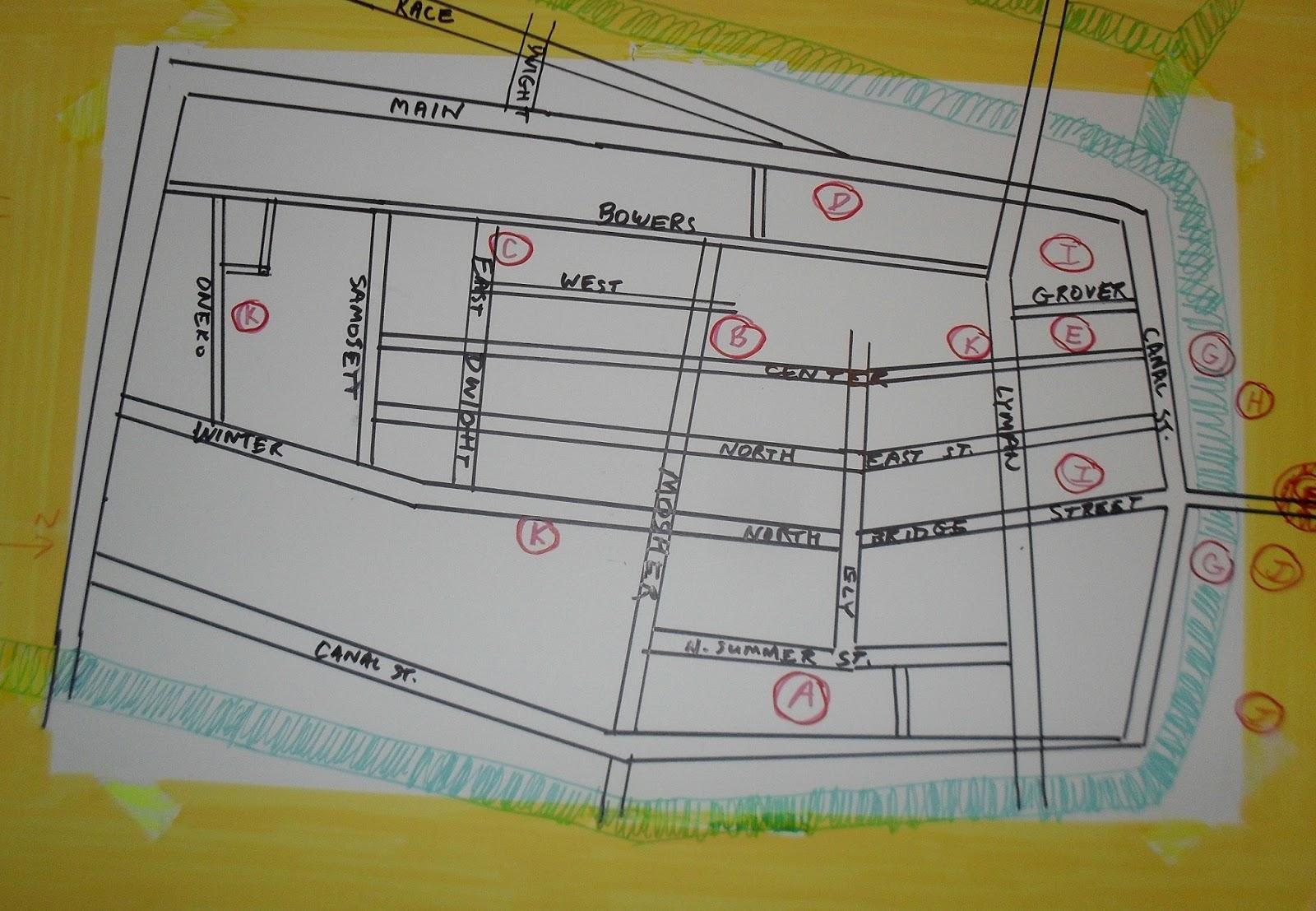 flats neighborhood of holyoke map