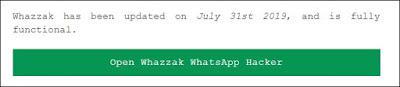 melihat pesan whatsapp orang lain dengan tool whazzak tehnomac
