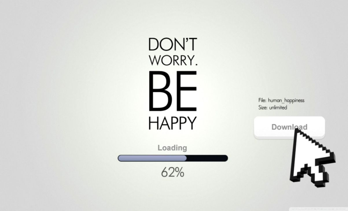 Dont Worry Be Happy Funny Wallpaper Wallpapers Mhytic