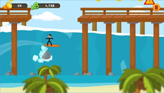 Game Stickman Surfer App