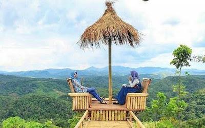 Bukit Halinjuangan Padang batung, Pemandangan di Puncak Buit halinjuangan