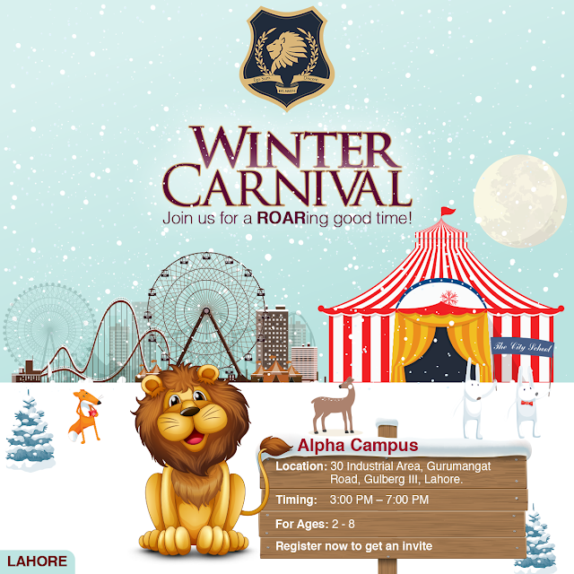 Winter Carnival in Lahore by Alpha - Event and Free Invitation Details #AlphaWinterCarnival