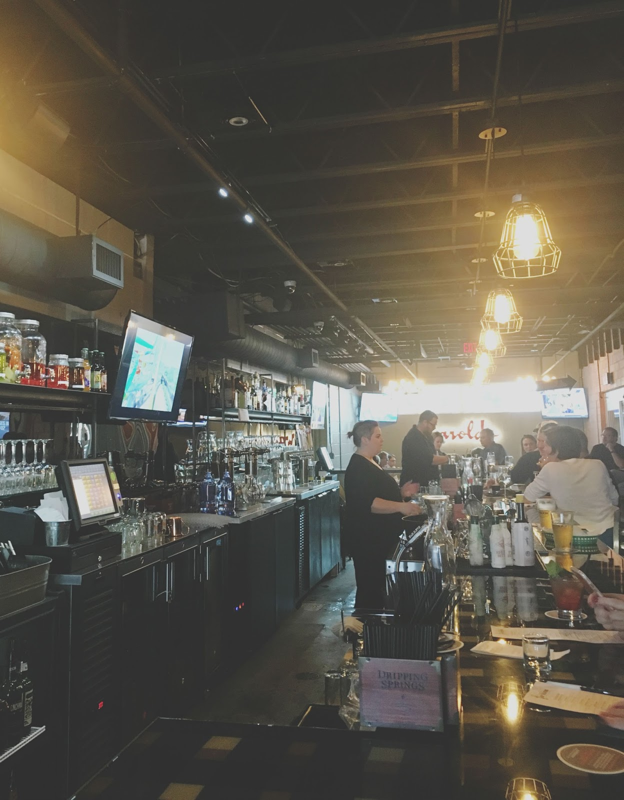 Harold's Tap Room - A bar/restaurant in Houston, Texas