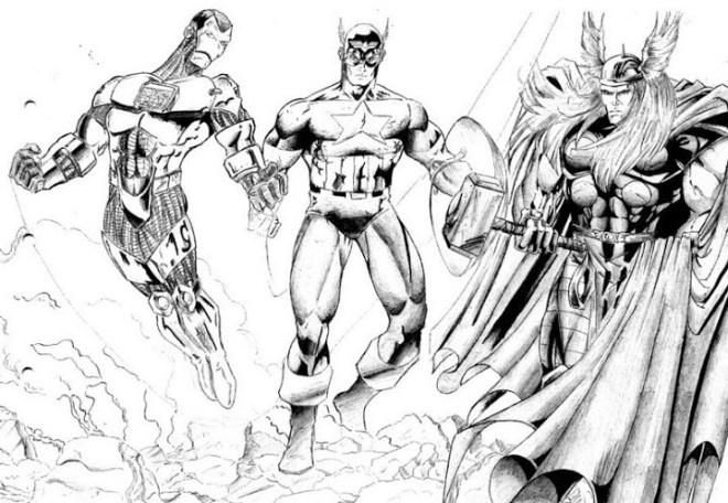 tag simbolos dos super herois da marvel para colorir