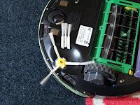 SODIAL Nレベル5.0.0.3/6 iRobot Roomba 500、600、700用の3つのサイドブラシセットの自慢である6アームをカットして3アームに変更しました。