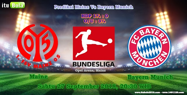 Prediksi Mainz Vs Bayern Munich - ituBola