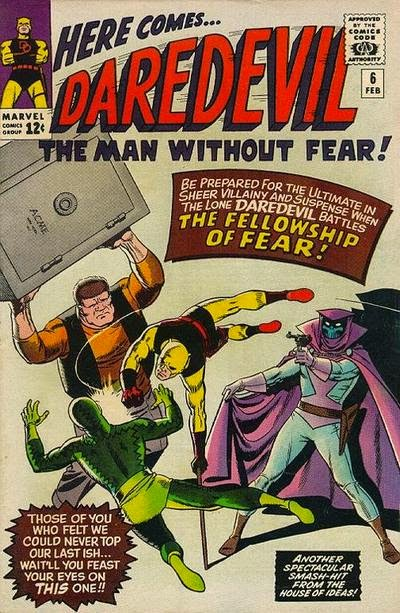 Daredevil #6, the Fellowship of Fear