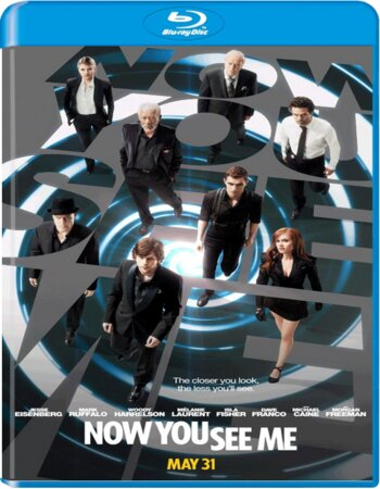 Now You See Me (2013) Dual Audio Hindi 480p BluRay 400MB ESubs