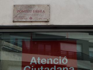 Plaça Pompeu Fabra (Girona) per Teresa Grau Ros