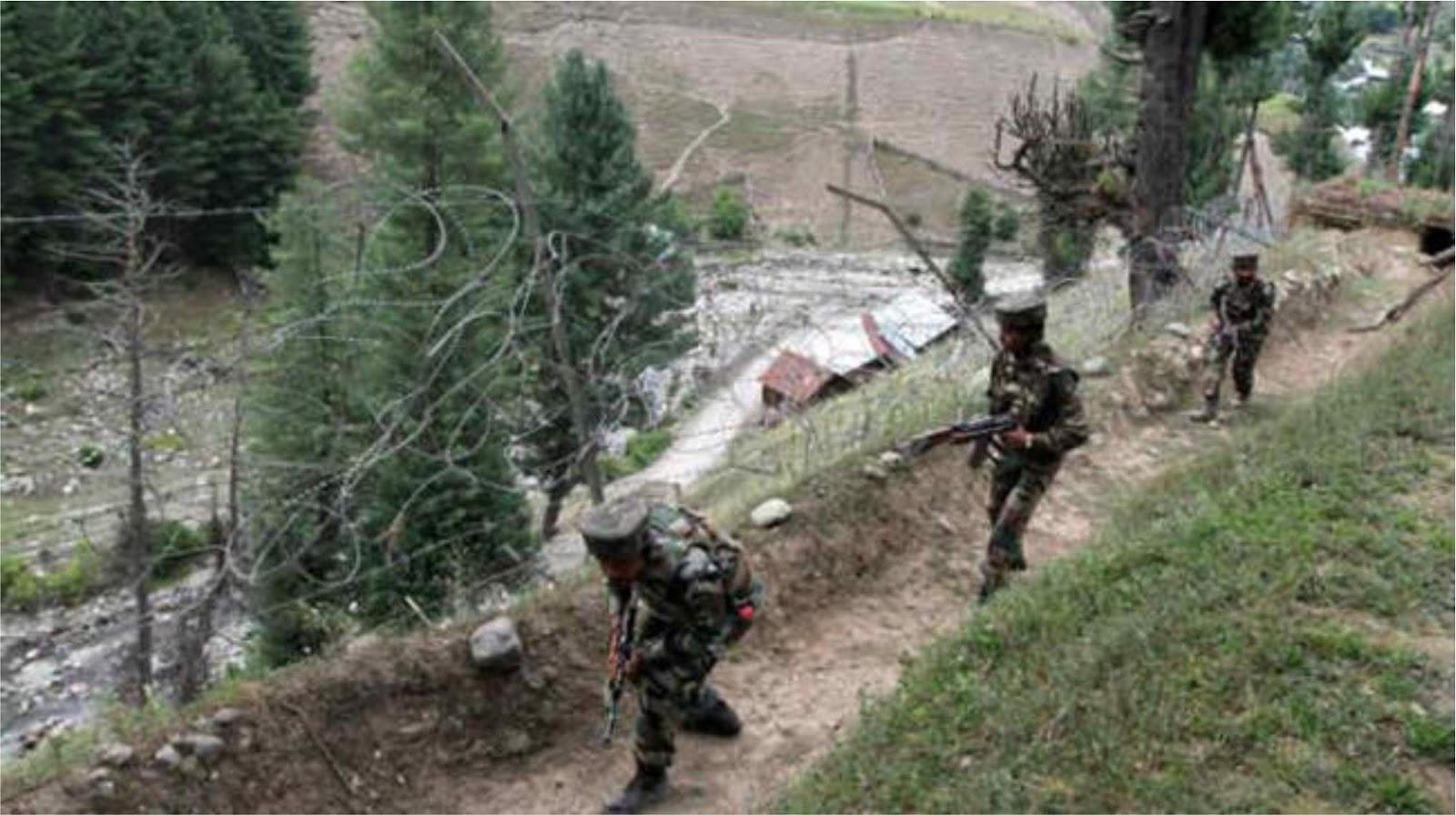 Setidaknya lima tentara India terluka saat penembakan dari pihak Pakistan di Kashmir