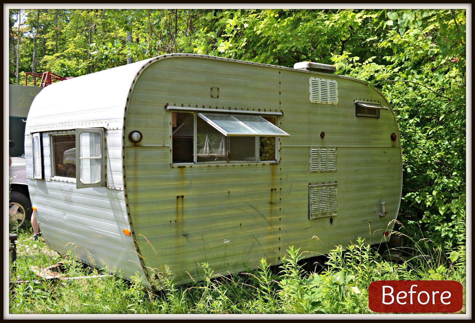 Pallet For Home Tin Can Camper Hunting