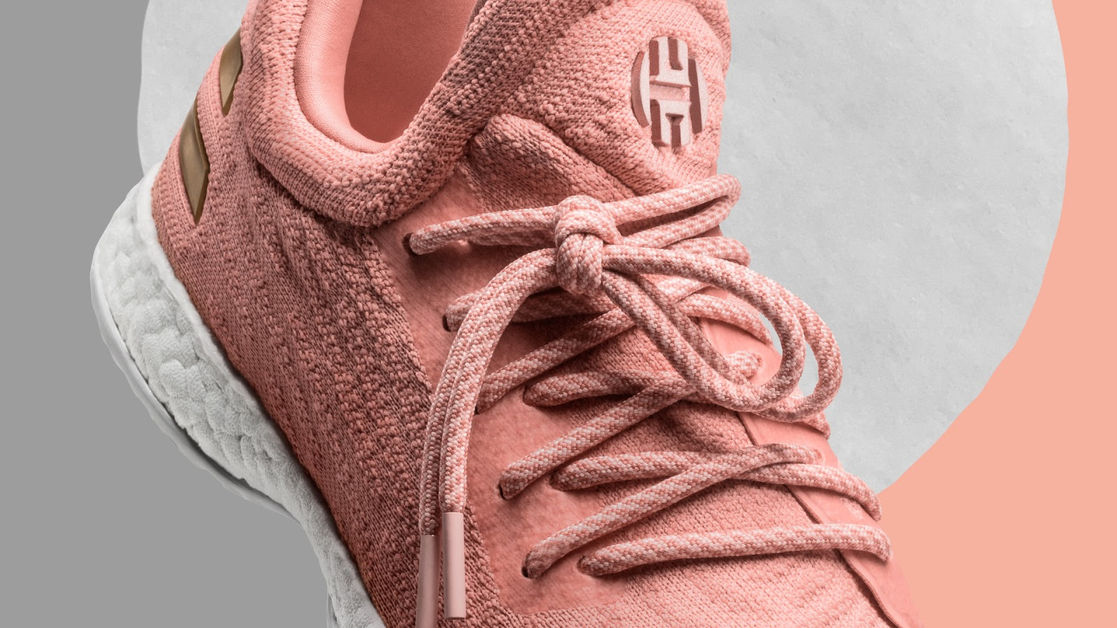 83c87fc1f242 ... adidas harden vol 1 ls pk 039 e5b16 ff6fa  discount code for the sweet  life features pink primeknit across the upper and gold detailing accented