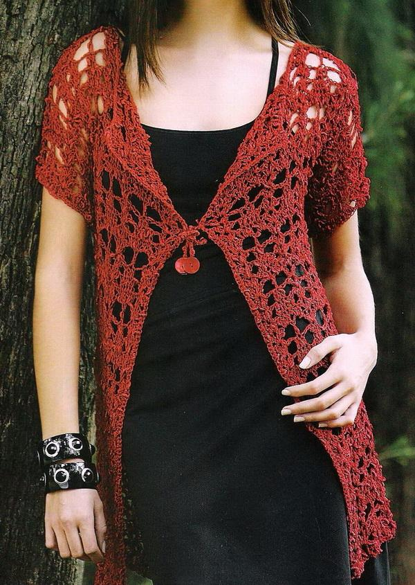 Stylish Easy Crochet: Crochet Cardigan - Womens Cardigan ...
