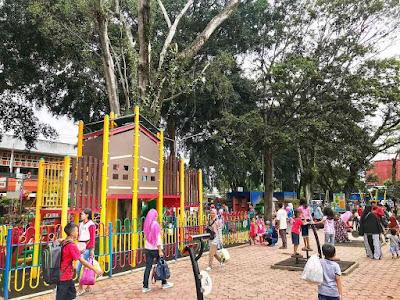 Wahana Taman Alun - alun Kota Malang