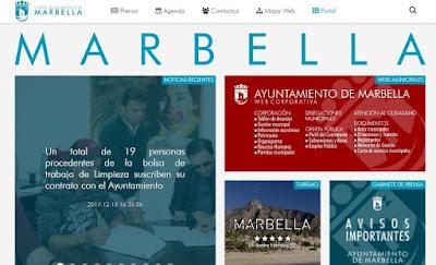 Web Ayuntamiento Marbella