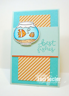 Best Fishes card-designed by Lori Tecler/Inking Aloud-stamps and dies from Lawn Fawn