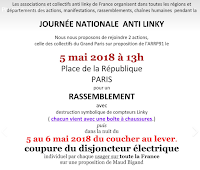 Journée nationale anti-Linky du 05/05/2018