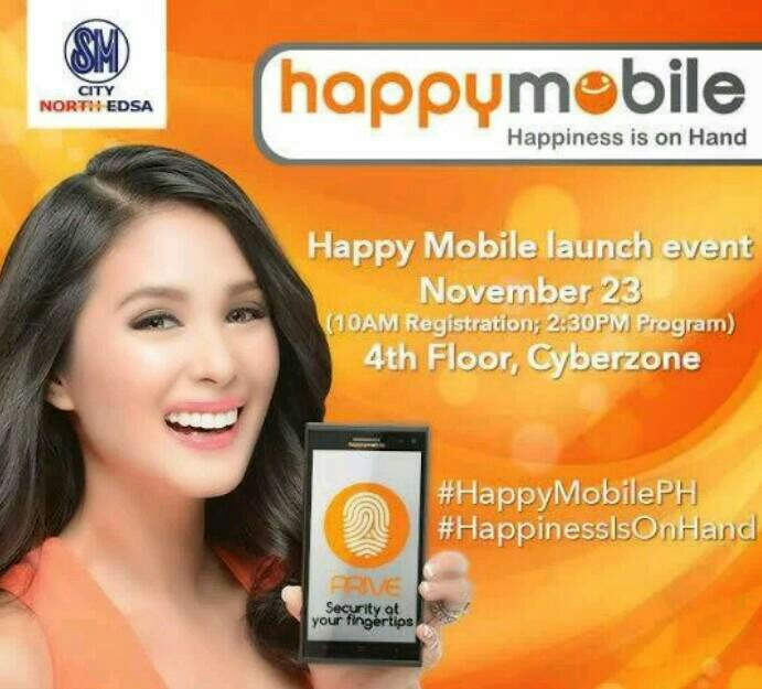 Happy Mobile Launch this November 23 at SM North EDSA