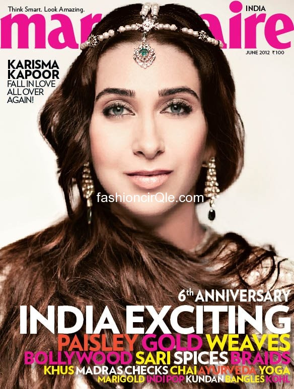 Karisma Kapoor On Marie Claire India Hq June 2012 Issue -5401