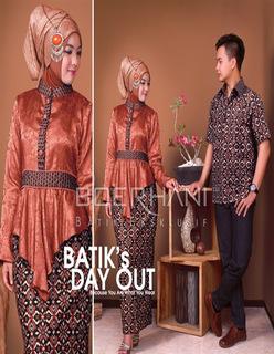 Foto Model Baju Batik Couple