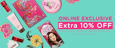 Watsons Online Store Discount Promo
