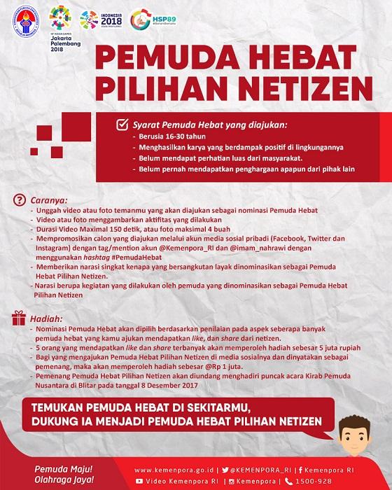 Pemuda Indonesia Berani Bersatu Dalam Peringatan Hari Sumpah Pemuda Ke-89 Tahun 2017