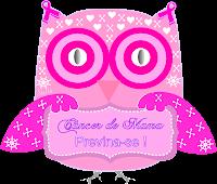 Câncer de mama laço outubro rosa corujinha - Criação Blog PNG-Free