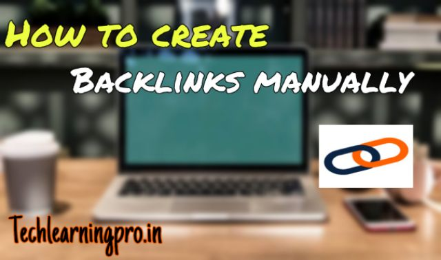 How to create backlinks manually