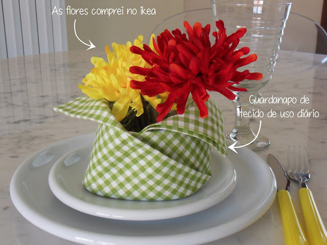 pra enfeitar a mesa. blog copy e paste.