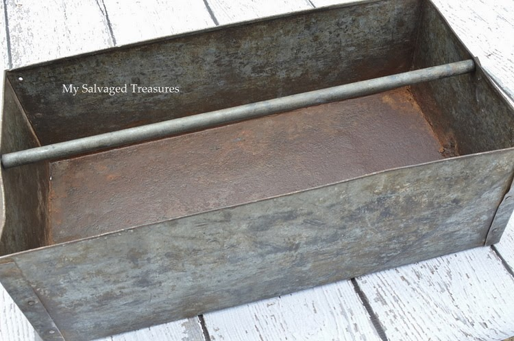 rustic galvanized box