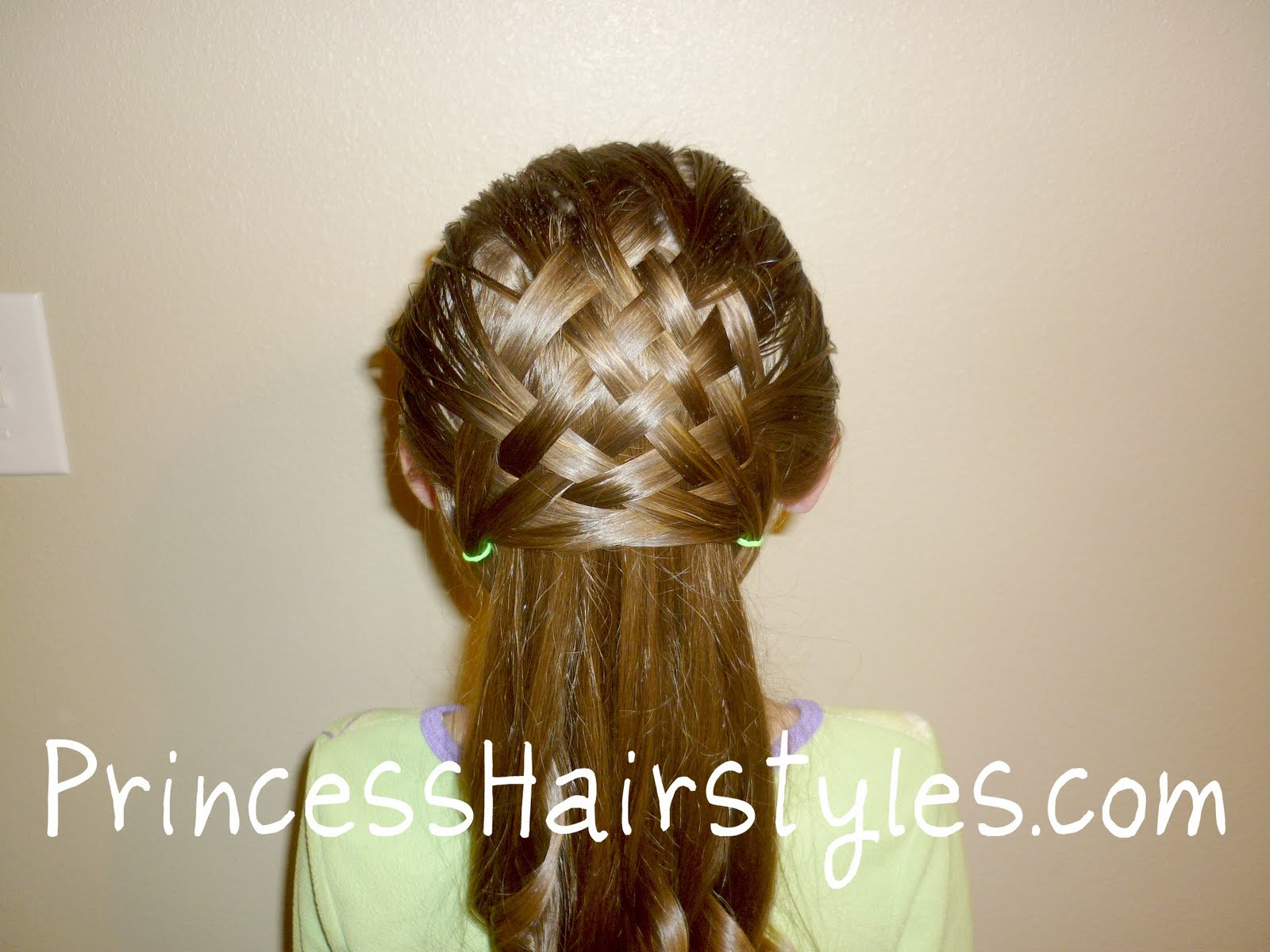 Basket Weave Hairstyle Design (By Request)