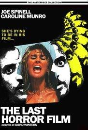 Watch The Last Horror Film Online Free 1982 Putlocker