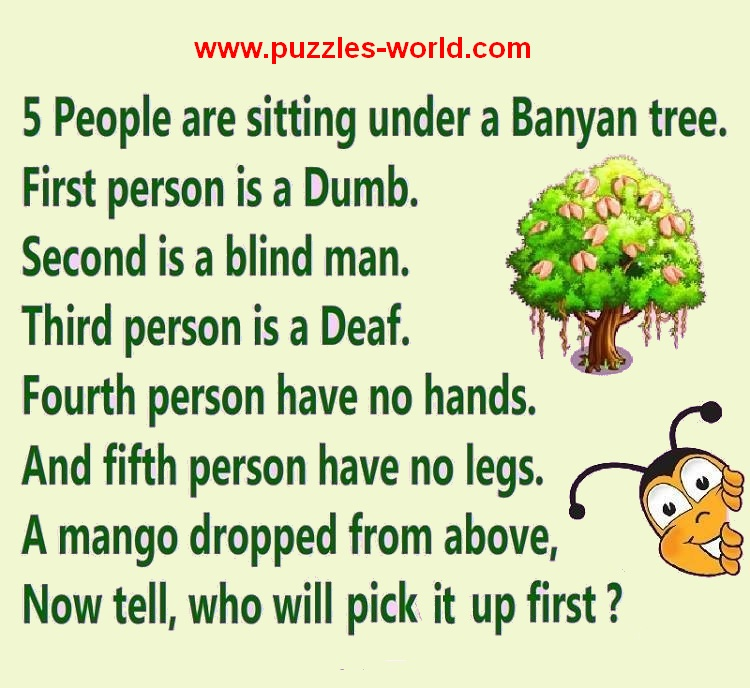 5 people are sitting under a Banyan Tree