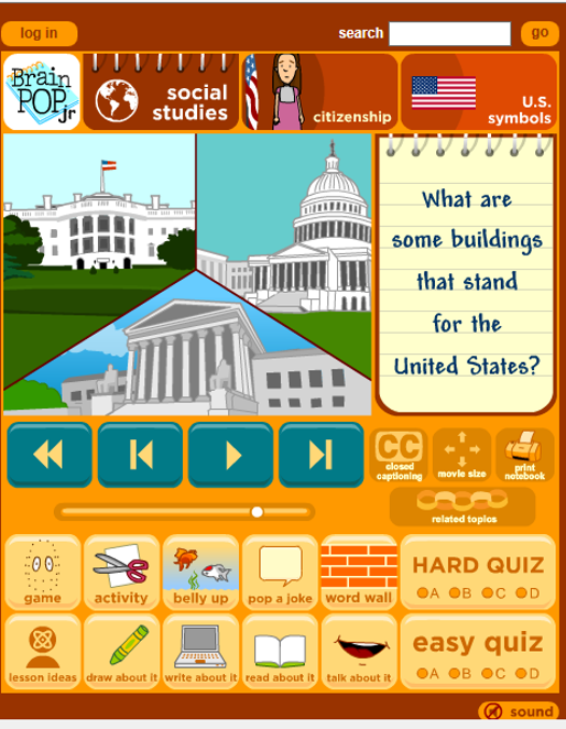 Teaching Ideas for American Symbols - Flying into First Grade