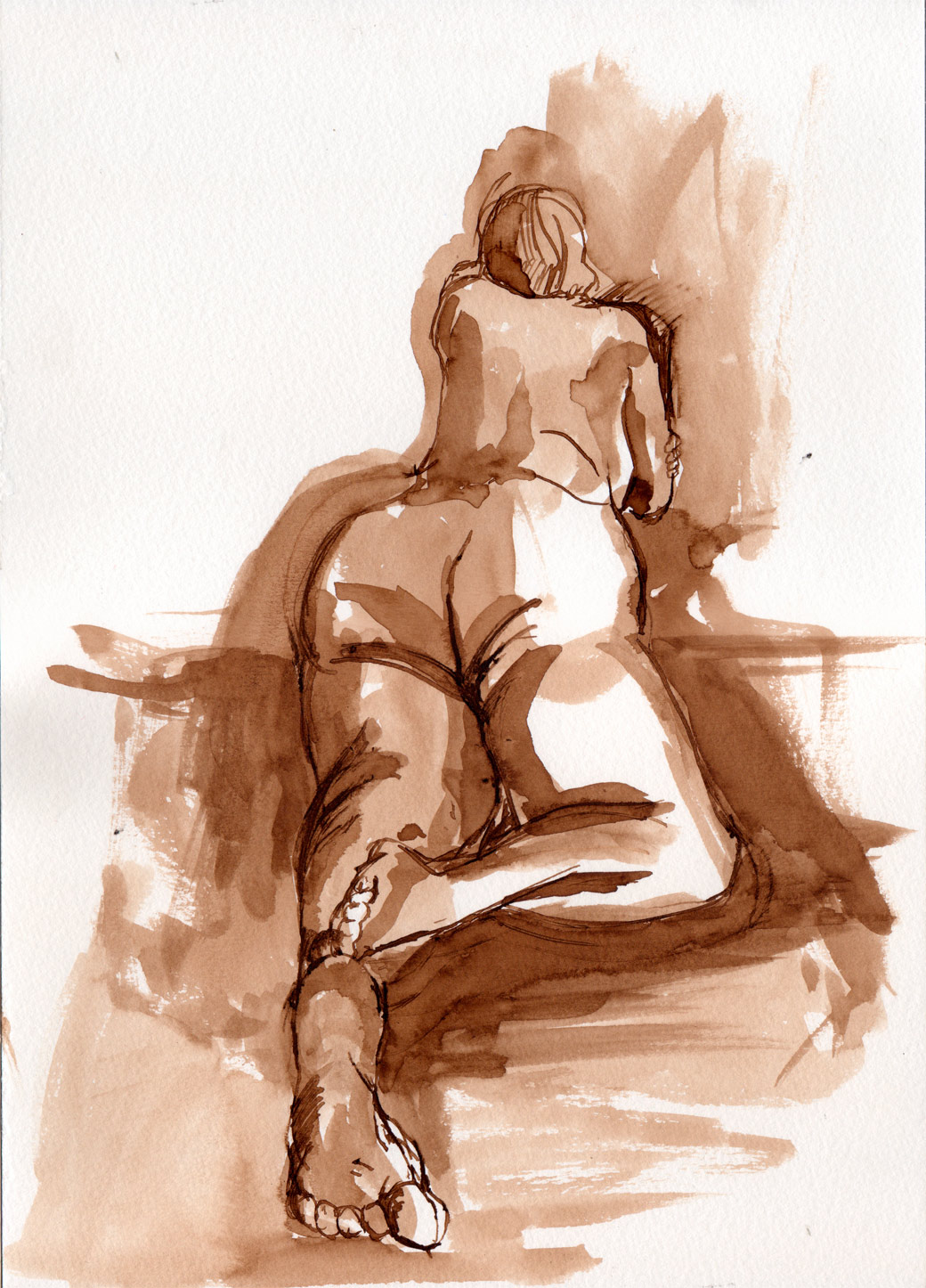 Life Drawing Page Three (2010)