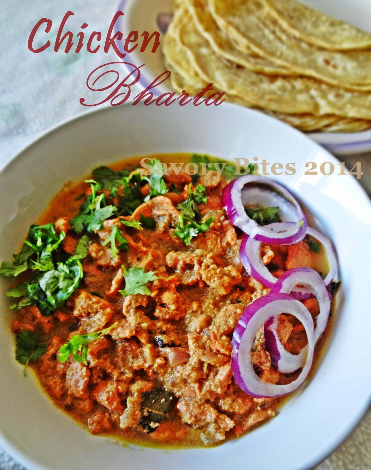 chicken Bharta Indian