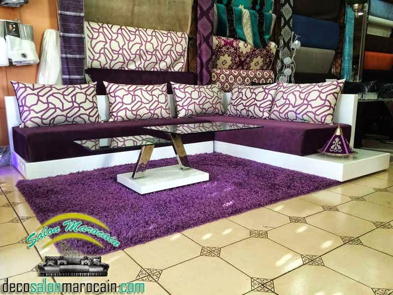 les tapis de salon marocain affordable salon marocain matelas tapis canaps et autres superbes. Black Bedroom Furniture Sets. Home Design Ideas