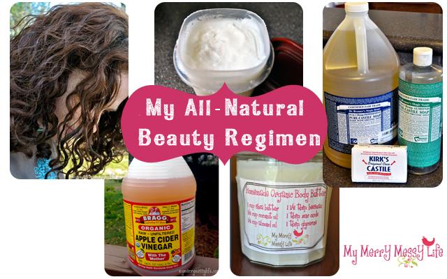 All-Natural, Homemade Beauty Regimen